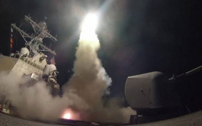 Attaque missile Syrie